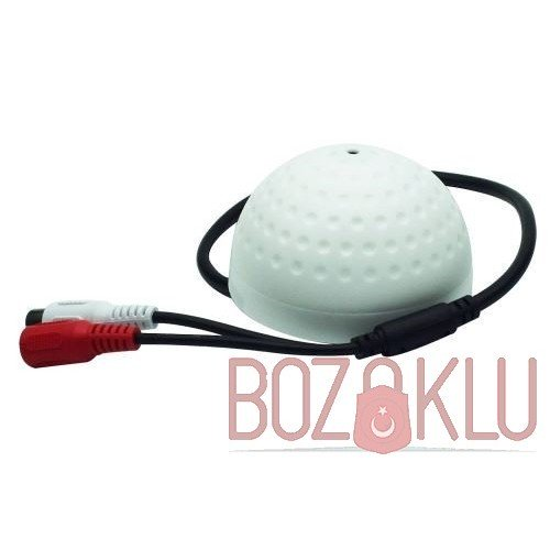 Güvenlik Kamera Mikrofonu Dome Tip
