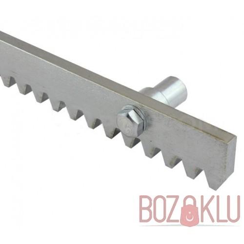 Kremayer Kapı Dişlisi Galvanize Çelikten 1 Metre