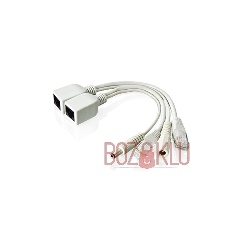 Pasif PoE Enjektör Kablo Seti