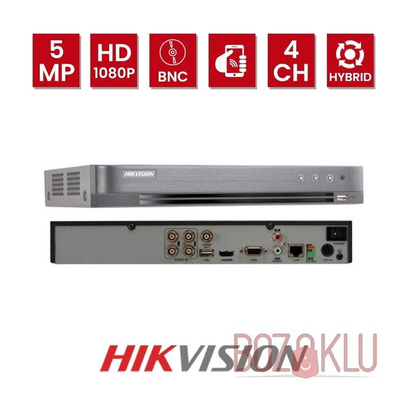 Hikvision DS-7204HUHI-K1, 4 Kanal 5Mp XVR