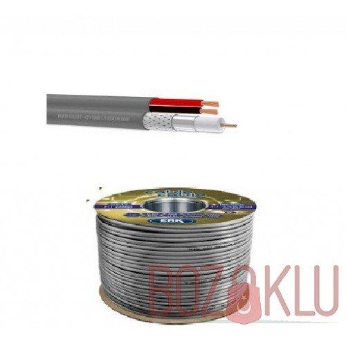 Kamera Kablosu 2+1, CCTV 0.75mm 100 Metre