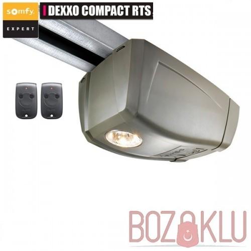Somfy Dexxo Compact RTS Seksiyonel Ortadan Çekme Kapı Motoru