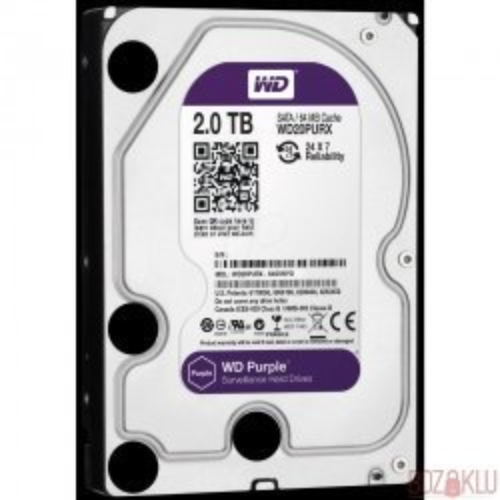 WD Purple 2TB Güvenlik HDD 7/24 (WD10PURX)