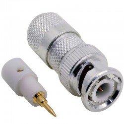 Bnc Konnektör Nikel CCTV