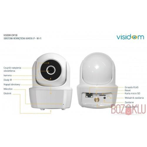 Somfy Wifi Kablosuz Bebek Kamerası Gece Görüşlü Hareket Sensörlü