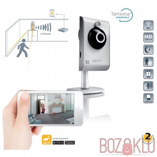 Somfy Kablosuz Wifi PIR Sensörlü Güvenlik Kamerası Bebek Kamerası