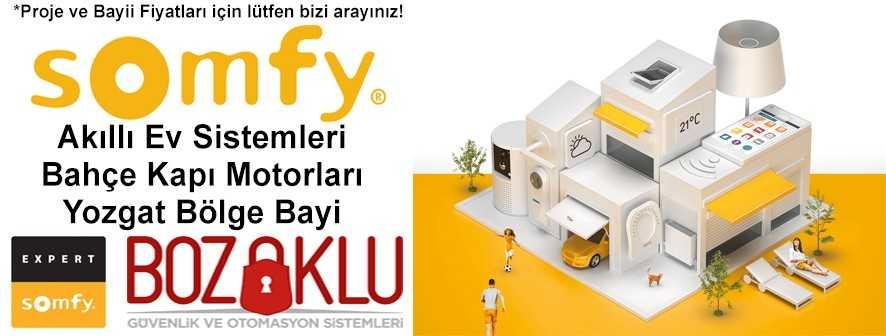 Somfy Yozgat Bölge Bayi